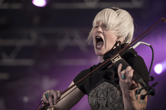 Hellfest 2014 - SubRosa - Photo by Vivien Varga