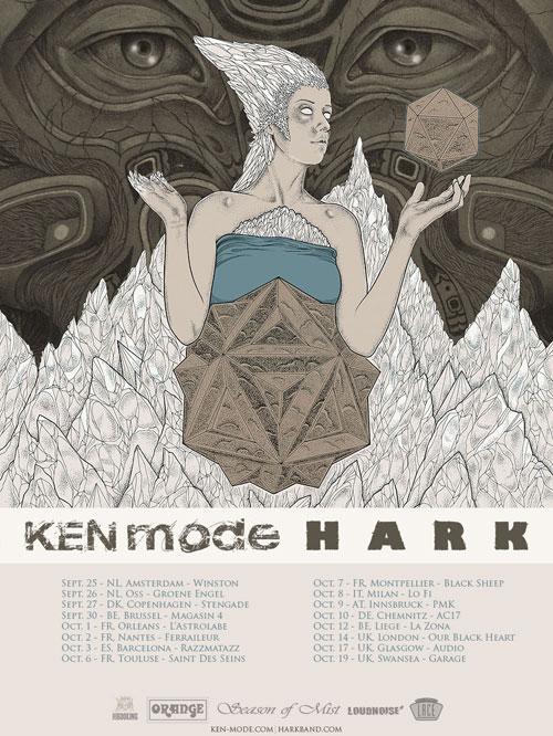 KEN mode & Hark - Euro Tour 2014