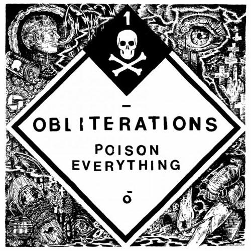 Obliterations 'Poison Everything' Artwork