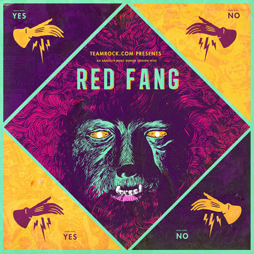 Red Fang - Absolute Music Bunker Session - Artwork