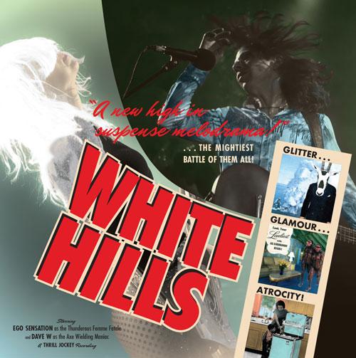 White Hills 'Glitter Glamour Atrocity' Artwork