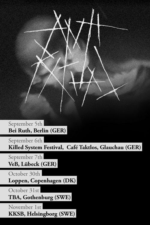 Anti Ritual - Autumn Euro Tour 2014