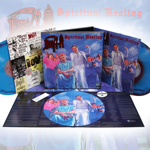 Death 'Spiritual Healing' LP Reissue