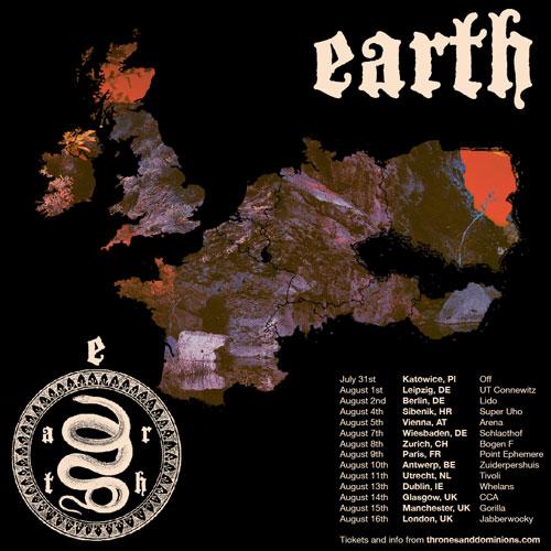 Earth - Euro Tour 2014