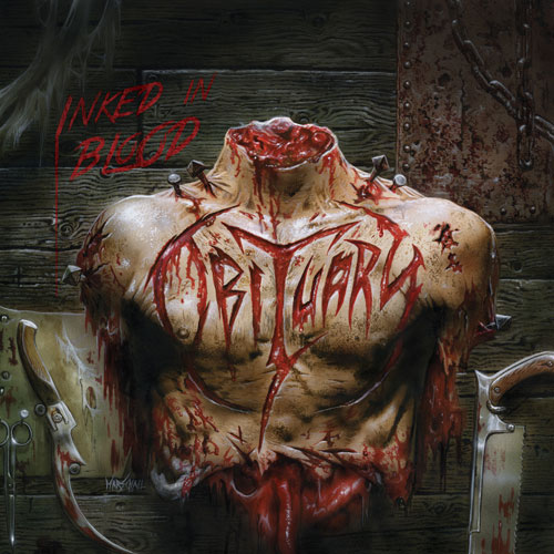Obituary 'Inked In Blood' Artwork