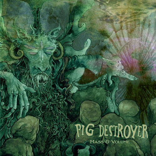 Pig Destroyer 'Mass & Volume' Artwork