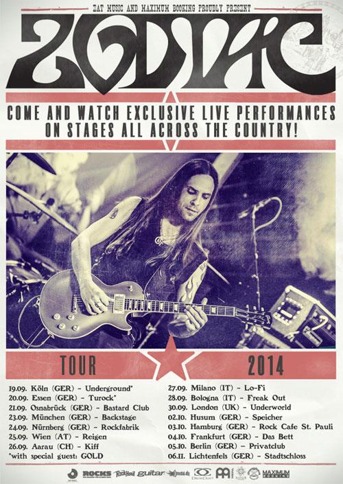 Zodiac - Euro Tour 2014