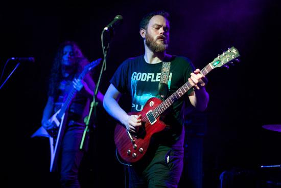 Pallbearer @ Audio, Glasgow 06/09/2014 - Photo by Alex Woodward