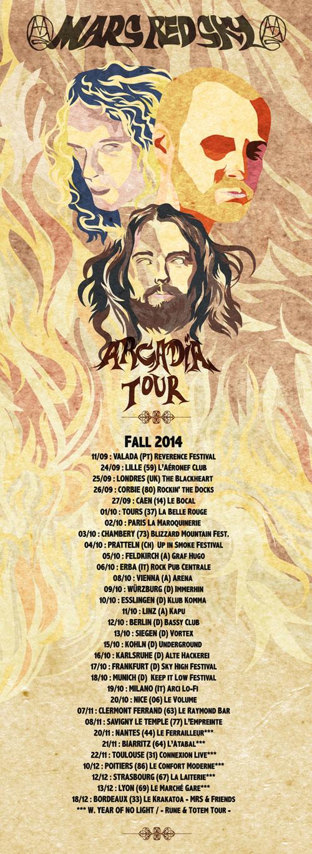 Mars Red Sky - Fall Euro Tour 2014