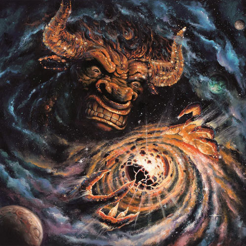 Monster Magnet 'Milking The Stars' Artwork