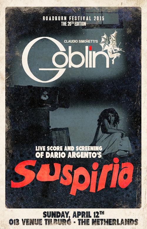 Roadburn 2015 - Goblin - Suspiria