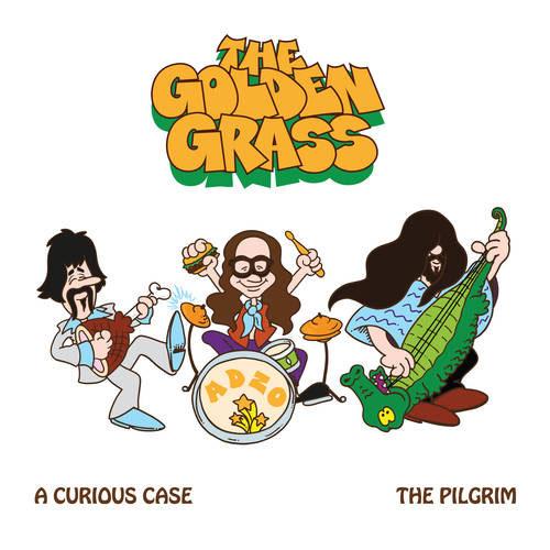 The Golden Grass 'A Curious Case/The Pilgrim' Artwork
