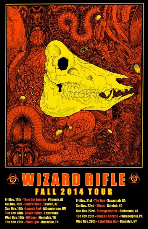 Wizard Rifle Tour Poster