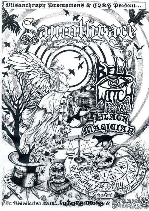 Samothrace / Bell Witch / Black Magician @ The Star & Garter, Manchester 07/05/2013