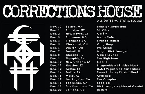 Corrections House - US Tour 2014