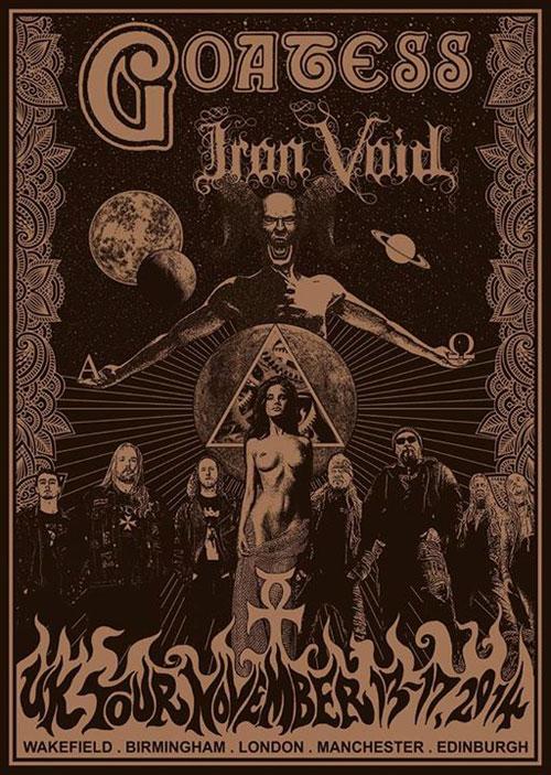 Goatess / Iron Void - UK Tour 2014