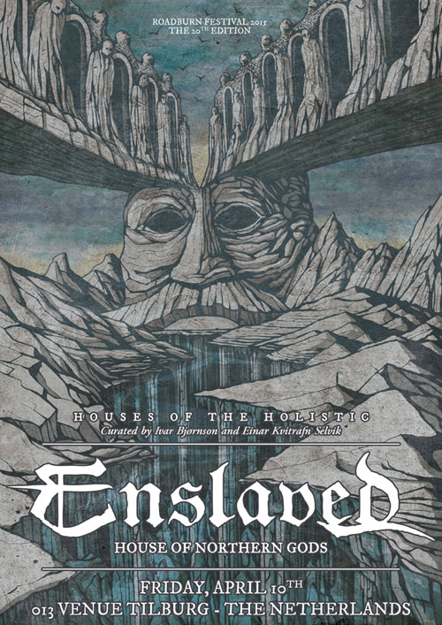 Roadburn 2015 - Enslaved - Friday