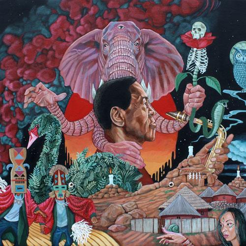 Sonny Simmons & Moksha Samnyasin 'Nomadic' Artwork