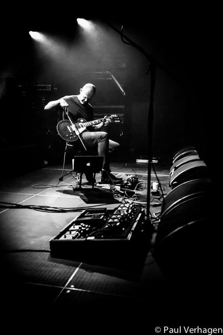 Dirk Serries @ Effenaar, Eindhoven 19/11/2014 - Photo by Paul Verhagen