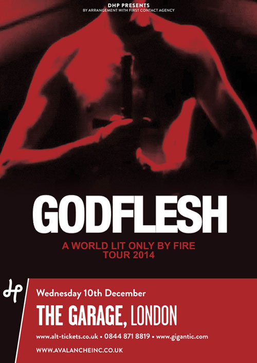 Godflesh / Ramleh / Khost @ The Garage, London 10/12/14