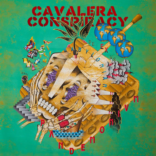 Cavalera Conspiracy 'Pandemonium' Artwork