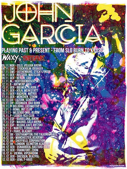 John Garcia - Euro Tour 2014