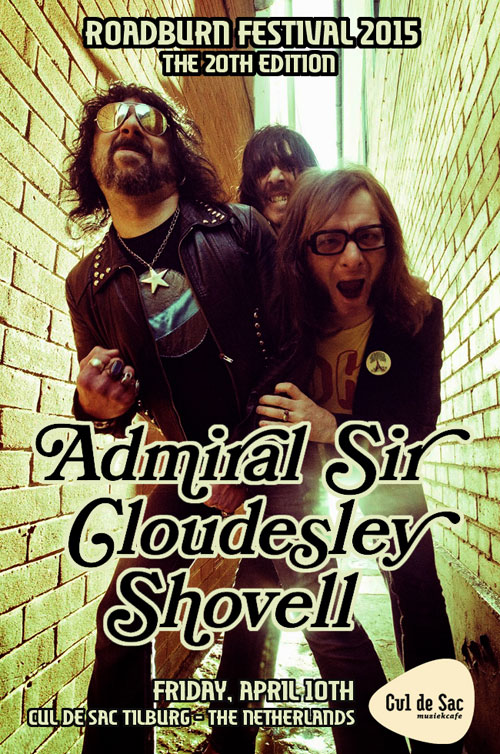 Roadburn 2015 - Admiral Sir Cloudesley Shovell - Friday