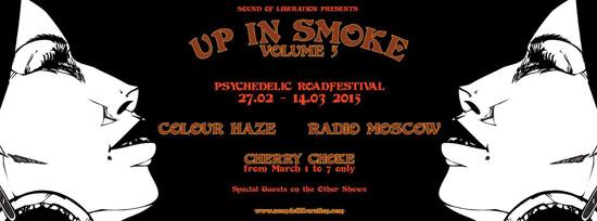 Colour Haze / Radio Moscow / Monomyth - Up In Smoke Volume 5