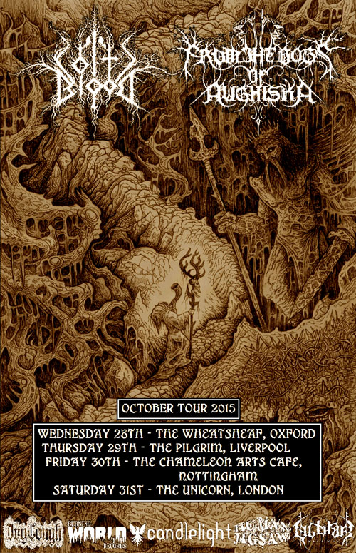 Coltsblood & From The Bogs Of Aughiska - UK Tour 2015