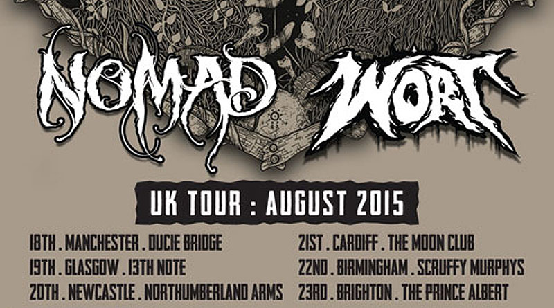 Nomad / Wort UK Tour Aug 2015