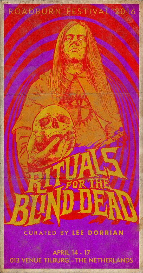Roadburn Festival 2016 - Lee Dorrian's Rituals For The Blind Dead