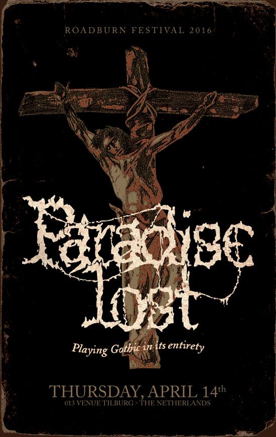 Roadburn 2016 - Paradise Lost 'Gothic'