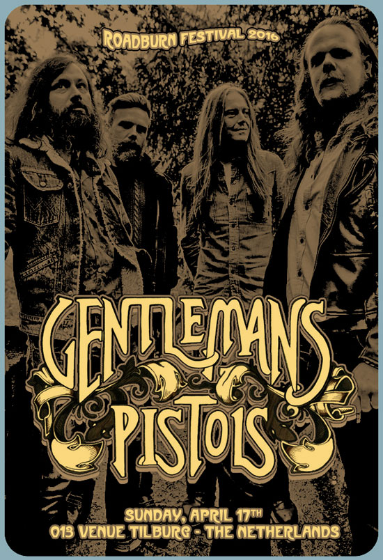 Roadburn 2016 - Gentlemans Pistols