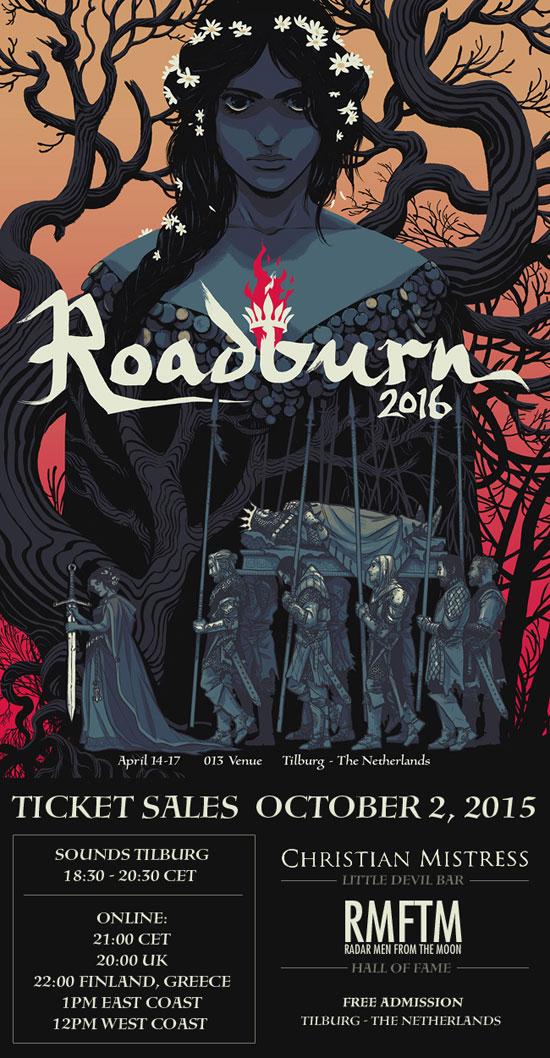Roadburn Festival 2016 - Tickets