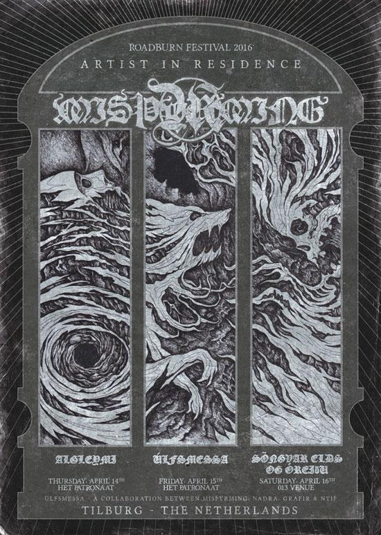 Roadburn 2016 - Misþyrming