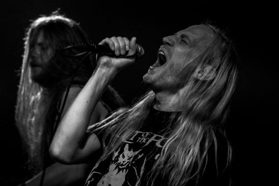 Cult Of The Fox @ Malta Doom Metal Festival 2015 Warm Up Gig – Photo by Justina Lukosiute