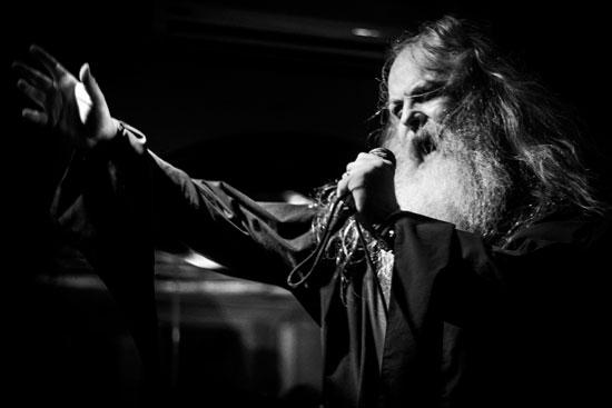 Hooded Priest @ Malta Doom Metal Festival 2015 Warm Up Gig – Photo by Justin Lukosiute
