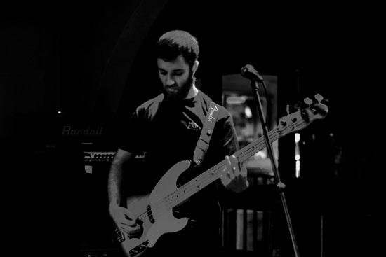Krishna @ Malta Doom Metal Festival 2015 Warm Up Gig – Photo by Justina Lukosiute