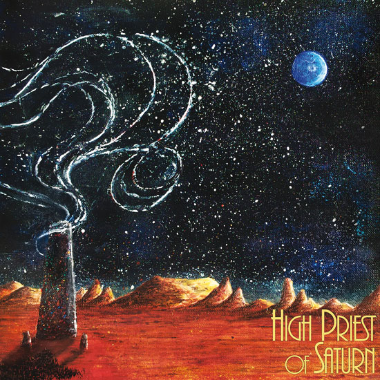 High Priest Of Saturn 'Son Of Earth And Sky' Artwork