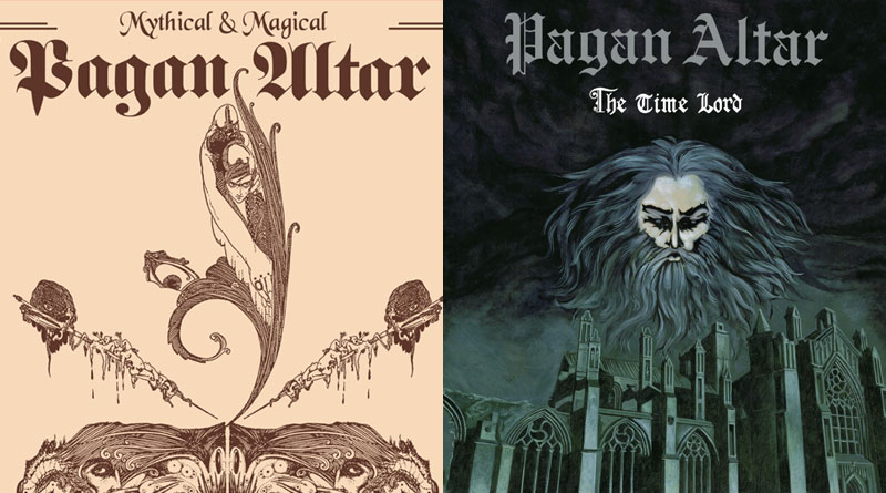 Pagan Altar 'Mythical & Magical' & 'The Time Lord'