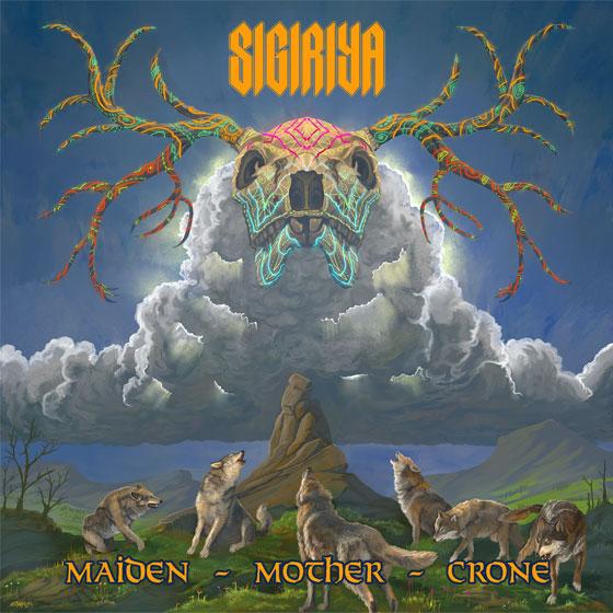 Sigiriya 'Maiden Mother Crone'
