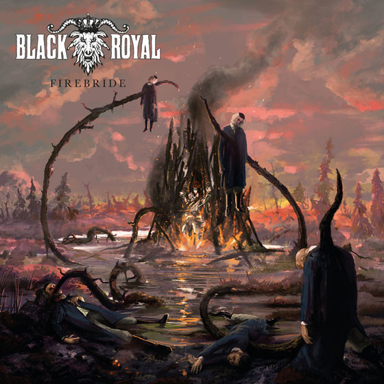 Black Royal 'Firebride'