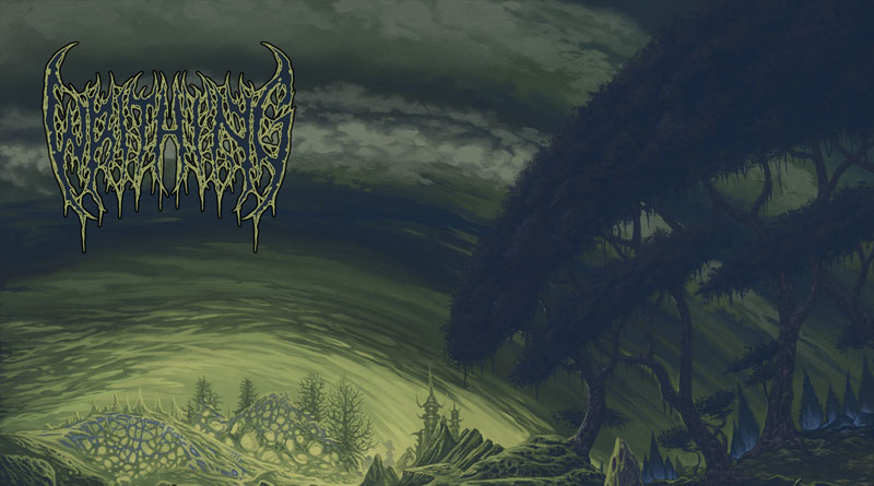 Writhing 'Eternalised In Rot'