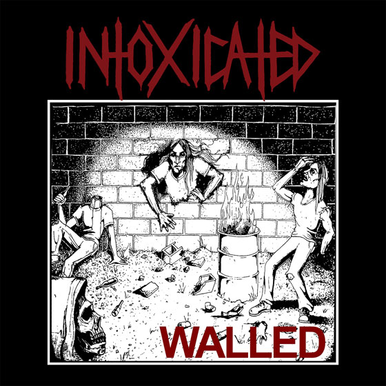 Intoxicated 'Walled' EP