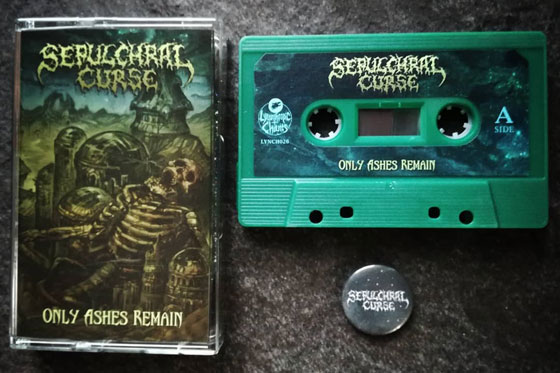 Sepulchral Curse Cassette - Lycanthropic Chants