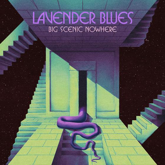 Big Scenic Nowhere 'Lavender Blues' EP