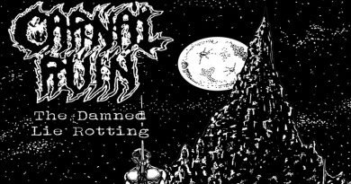 Carnal Ruin 'The Damned Lie Rotting' EP