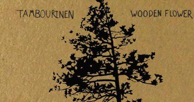 Tambourinen 'Wooden Flower'