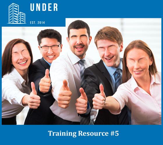 Under 'Training Resource #5'