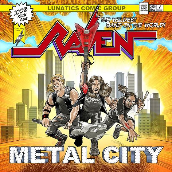 Raven 'Metal City'